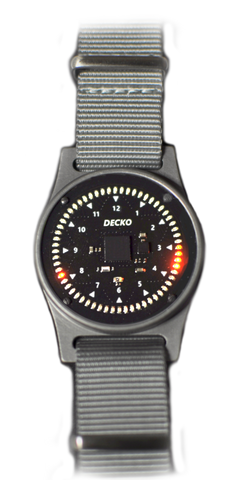 DECKO WATCH - ORANGE LEDS