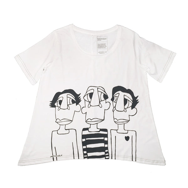 Three Men t-shirt