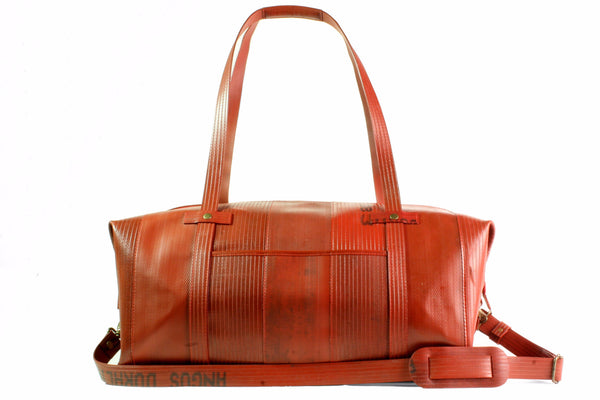 Elvis & Kresse Fire-hose Weekender Bag