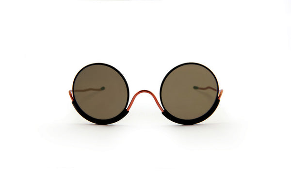 Wires Glasses Black 180° Copper
