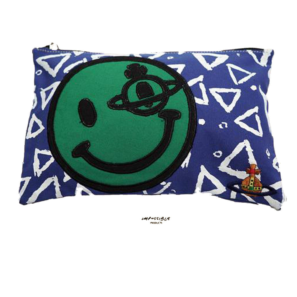 Vivienne Westwood Smiley Zip Pouch