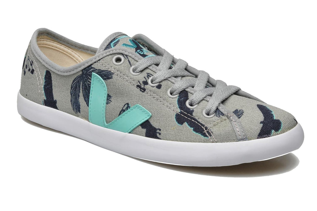 Lily Cole & Veja Trainers in Grey