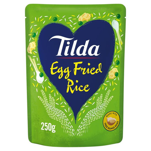 Tilda Microwave Egg Fried Rice 250g