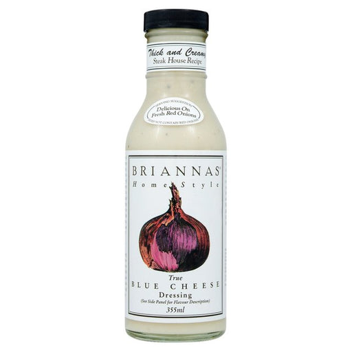 Briannas Blue Cheese Dressing 355ml