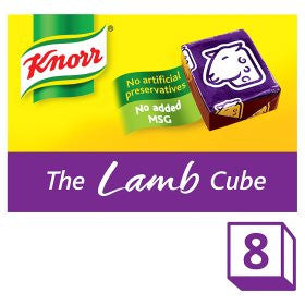 Knorr Lamb Stock Cubes - British Essentials