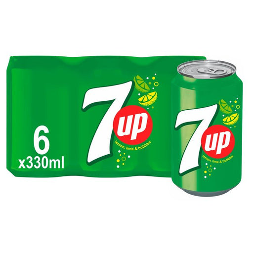 7UP Regular 6 x 330ml
