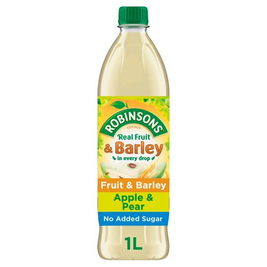 Robinsons Fruit & Barley Apple & Pear 1L