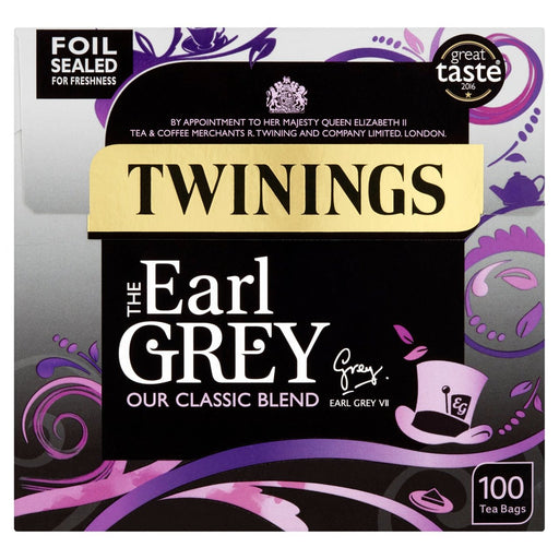 Twinings Earl Grey Tea 100 Tea Bags