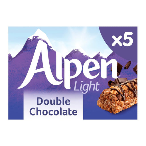 Alpen Light Cereal Bars Double Chocolate 5 x 19g