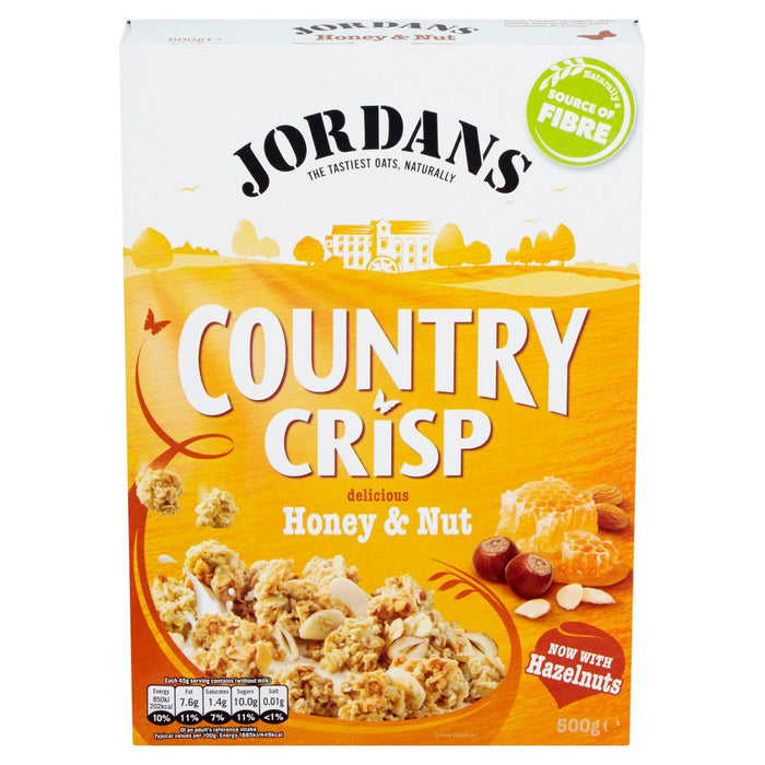 Jordans Country Crisp Honey Nut Cereal 500g