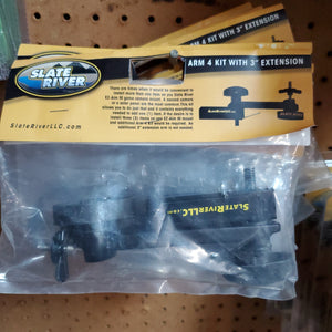 "Slate River Arm 4 Kit with 3"" Extension Arm"