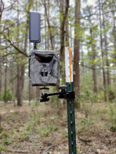 Load image into Gallery viewer, Slate River EZ-Aim T-Post Trail Camera Mount Ships Free