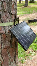 Load image into Gallery viewer, Combo 12v 10 watt Monocrystalline Solar Panel and Bracket Free Shipping