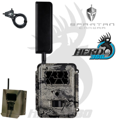 Spartan GoCam Verizon 4G LTE Z4GB2 W/Security Box and Master lock Cable