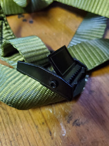 "Trail Camera Mounting Strap 1"" Lashing Strap with Metal Cam Buckle"