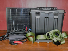 Load image into Gallery viewer, Spartan Battery Box, Solar Panel and Bracket Kit 6v Spartan/Covert