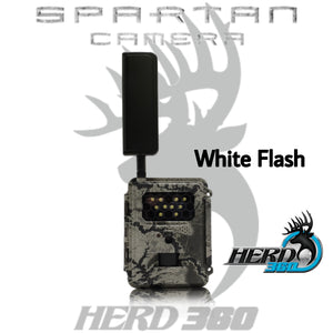 SPARTAN GOCAM VERIZON 4G/LTE WHITE FLASH Model: GC-Z4Gc2