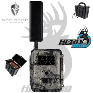 Spartan GoCam Verizon 4G LTE Z4GB2 Battery Box Combo