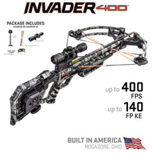 Load image into Gallery viewer, Wicked Ridge Invader 400 W/ACUdraw Cocking Device Pro View Scope Package