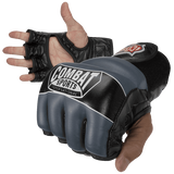 Combat Sports, Leather, Hybrid, MMA Gloves