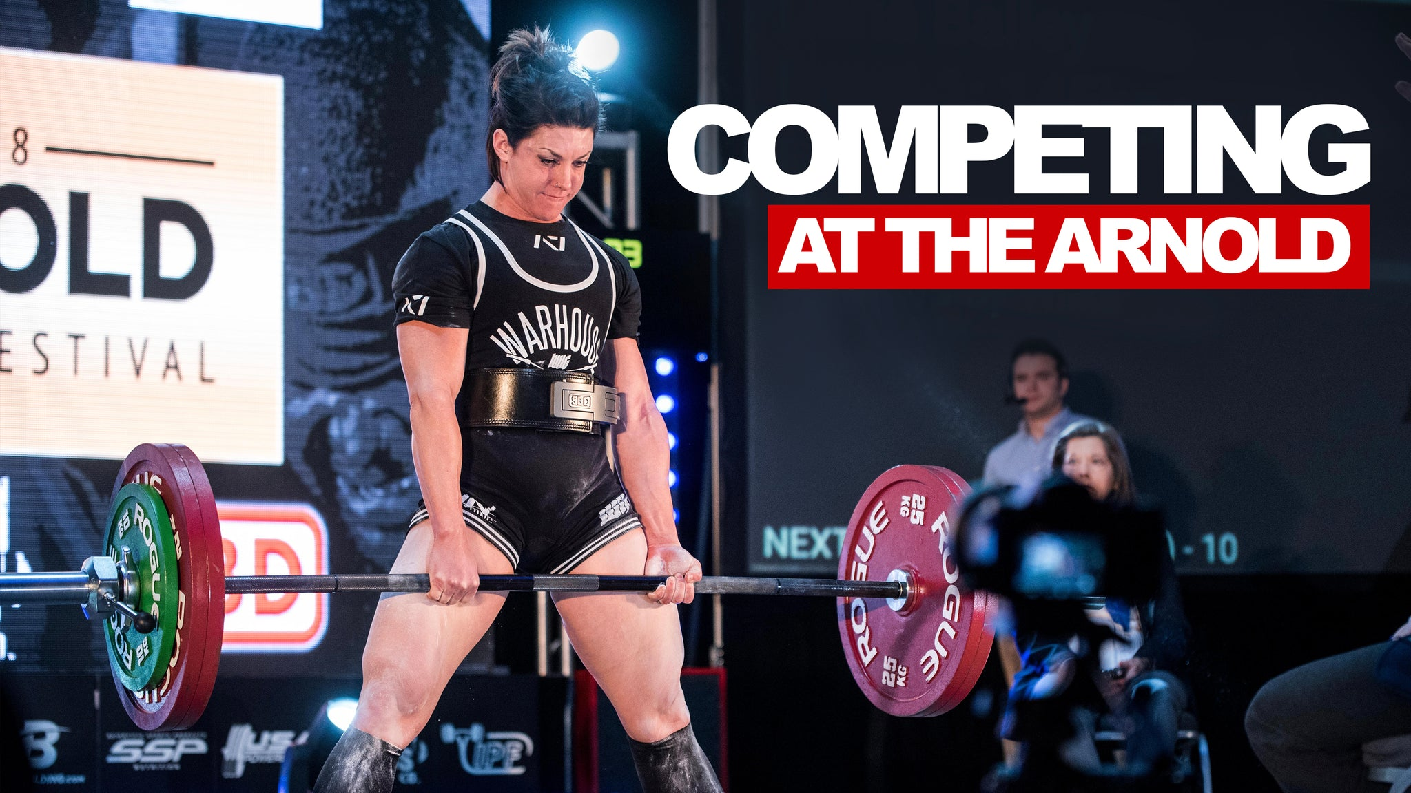 Competing At The Arnold Dana Linn Bailey Run Everything Labs