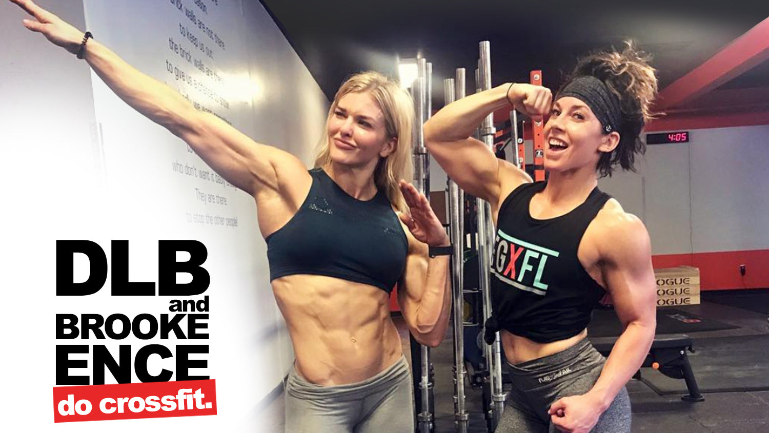 DLB & BROOKE ENCE DO CROSSFIT - Run Everything Labs