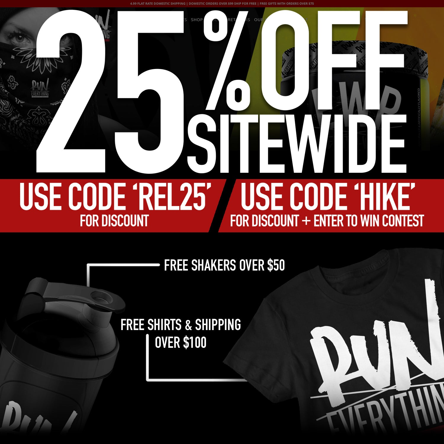 6b2b69cd6d2ea 25% OFF AND WIN A TRIP TO HIKE WITH US! - Run Everything Labs
