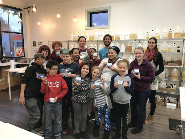 Candle workshop with MN Youth Farm and Pillsbury House