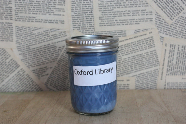 The original Oxford Library candle
