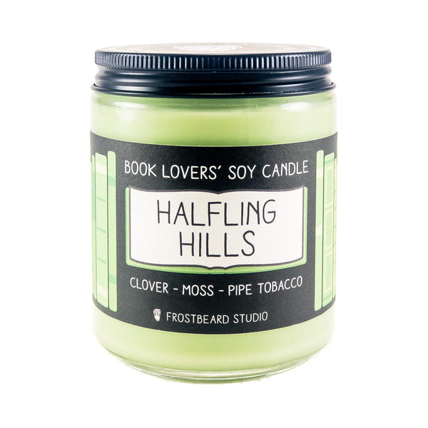Halfling Hills - Book Lovers' Soy Candle - Frostbeard Studio