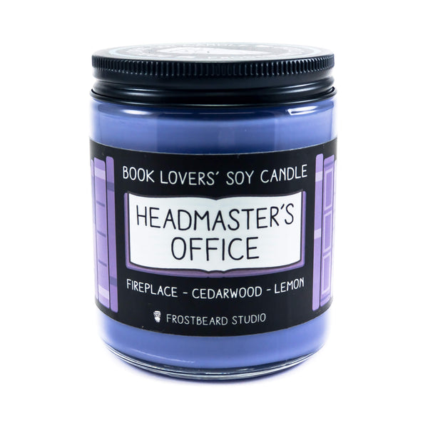 Headmaster's Office - Book Lovers' Soy Candle - Frostbeard Studio