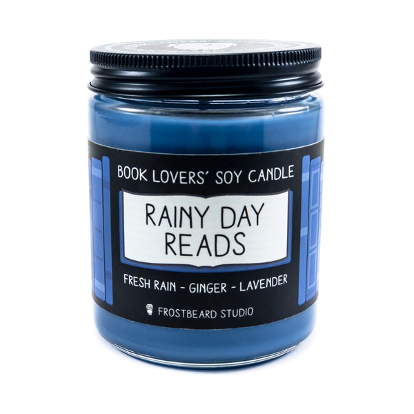 Rainy Day Reads - Book Lovers' Soy Candle - Frostbeard Studio