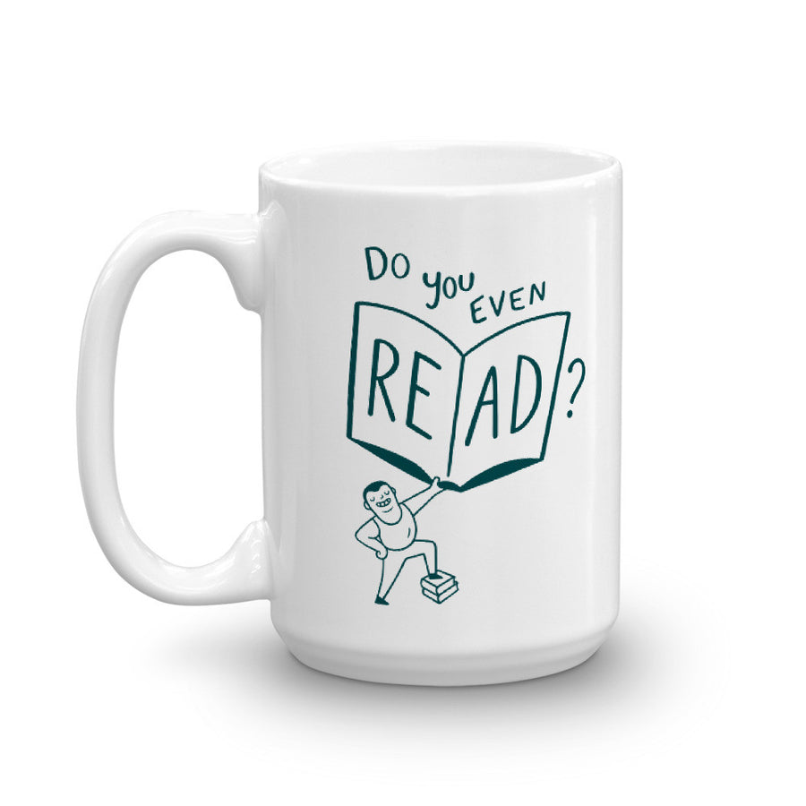 """Do You Even Read?"" - Mug -  - Mug - Frostbeard Studio"