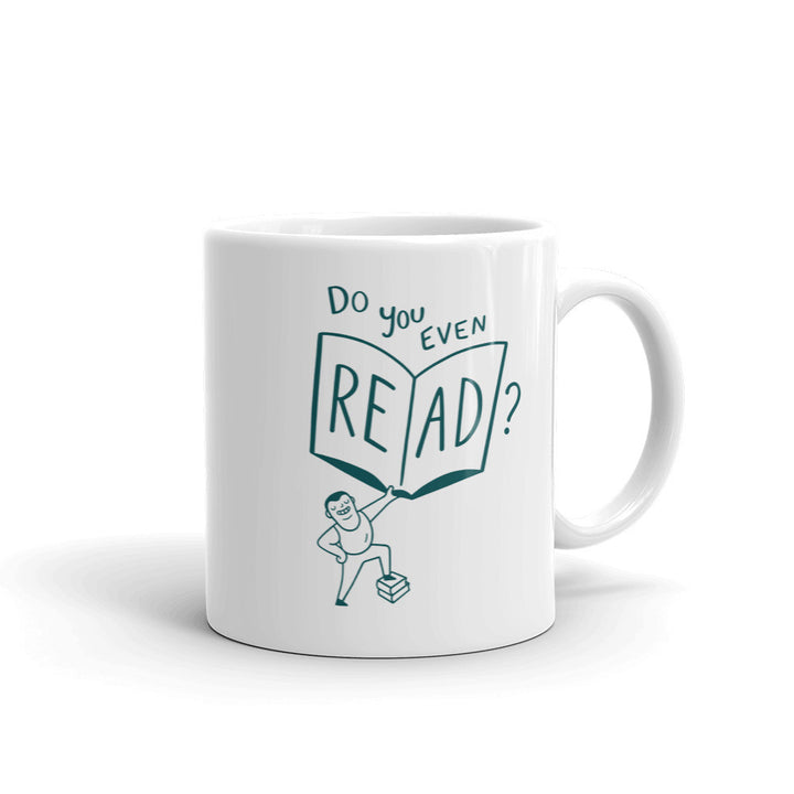 """Do You Even Read?"" - Mug - 11oz - Mug - Frostbeard Studio"