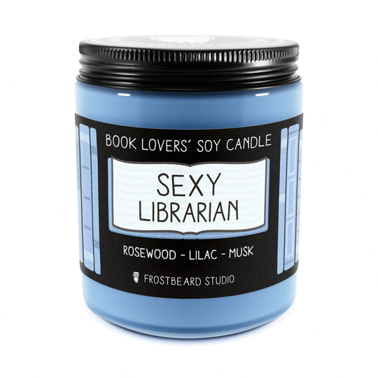 Sexy Librarian, Frostbeard Studio candle