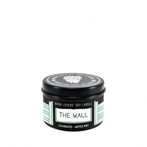 The Wall - 2 oz Tin - Book Lovers' Soy Candle - Frostbeard Studio
