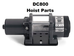 WARN DC800 12v Hoist Parts