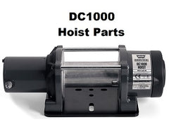 WARN DC1000 12v Hoist Parts
