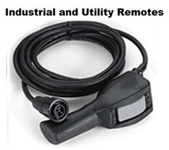 Industrial and Utility Winch Remote Controls