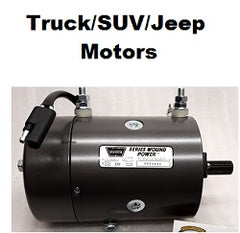Truck/SUV/Jeep Winch Motors
