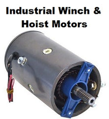 Industrial Winch & Hoist Motors