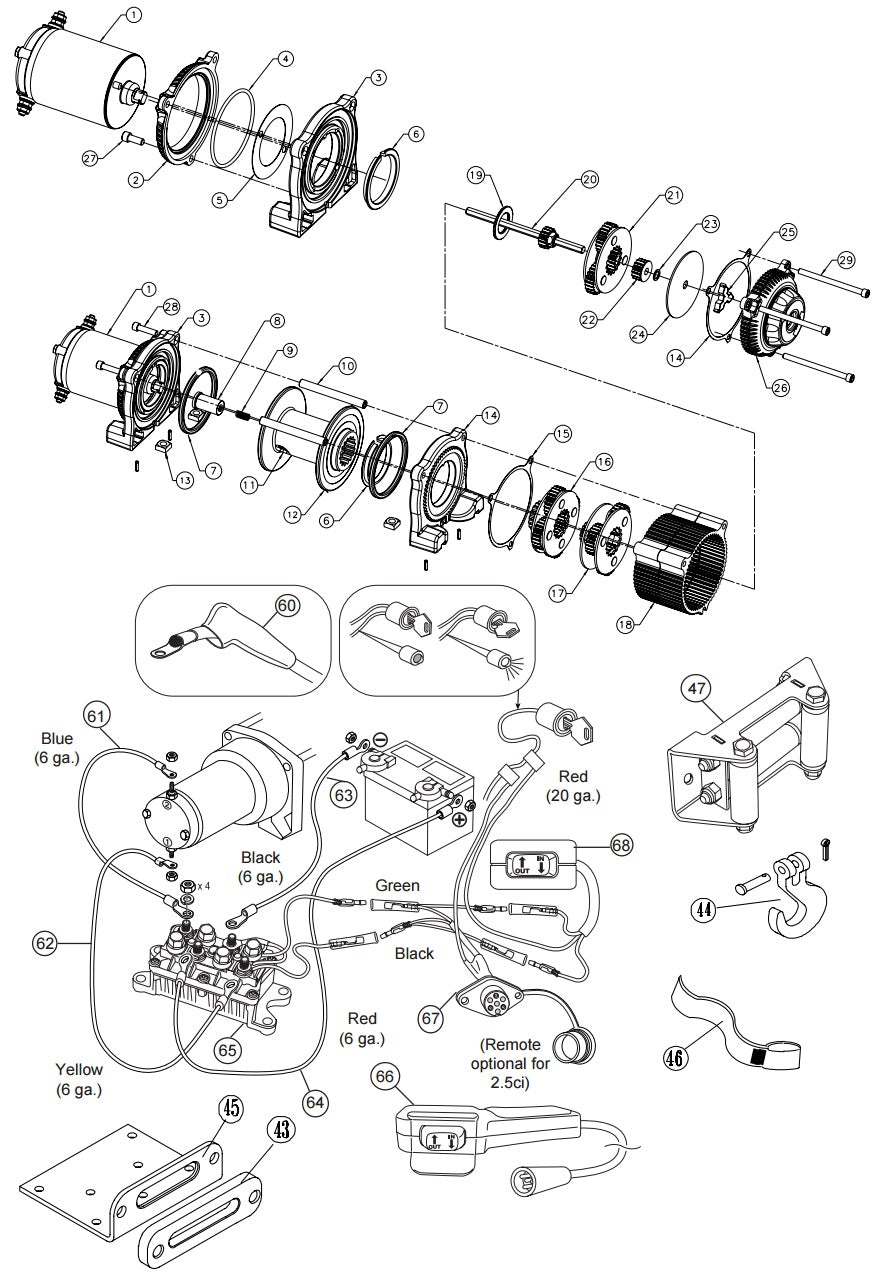 warn atv winch parts list free download  u2022 oasis