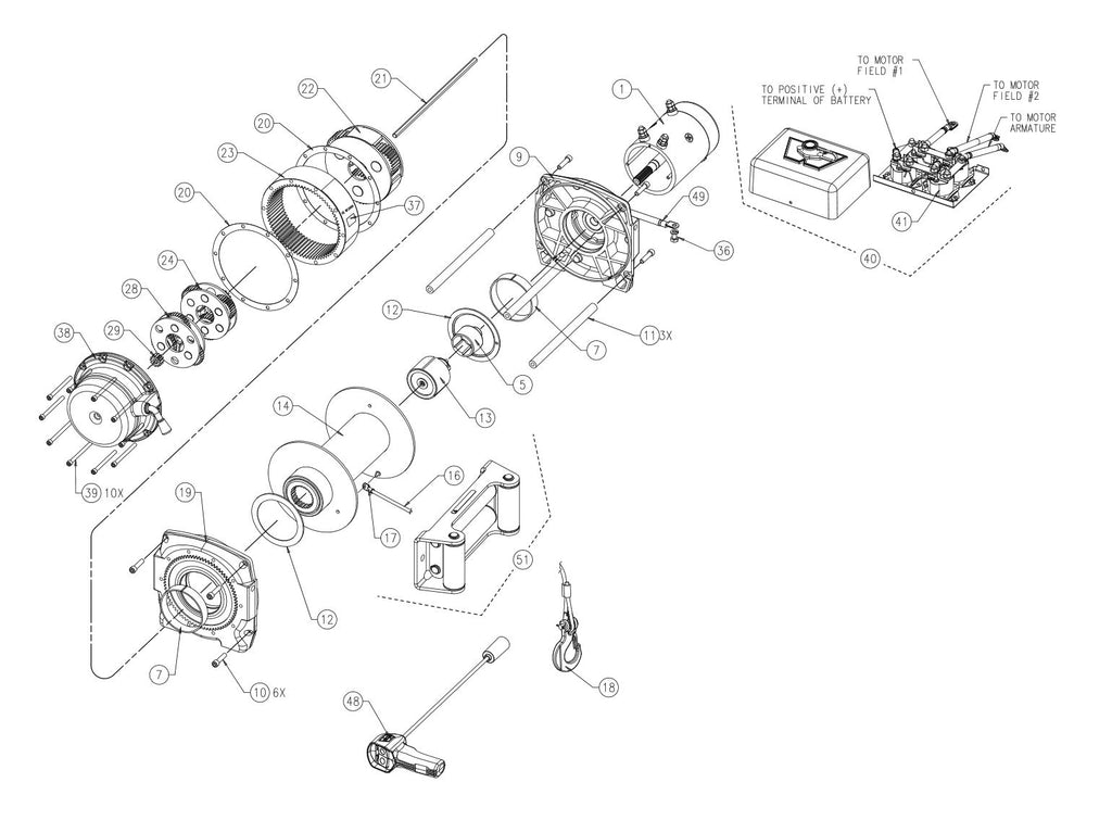 WARN M12000 Truck Winch Parts – Page 2 – Montana Jacks Outpost on