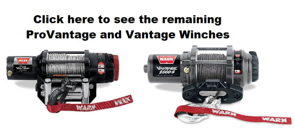 ProVantage and Vantage Winch Collection