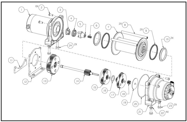 [DIAGRAM] Warn A2000 Winch Wiring Diagram FULL Version HD