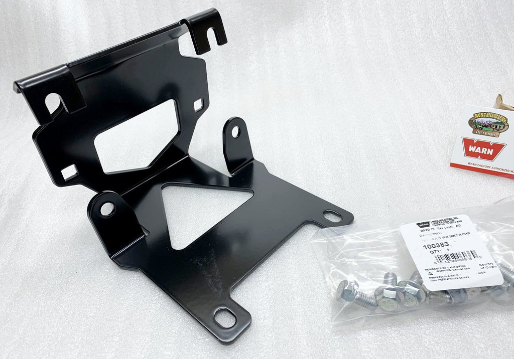 WARN 100380 ATV Winch Mount 14-18 HONDA ForemanTRX500, RancherTRX420, RubiconTRX500