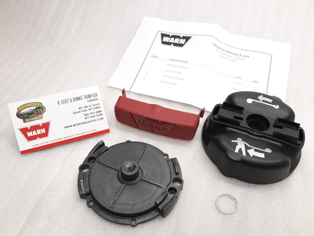 WARN 100440 Clutch Dial Service Kit for ProVantage 2500, 3500, 4500