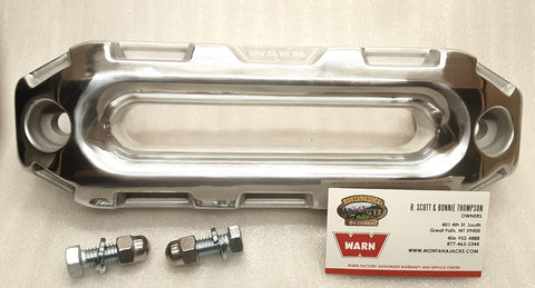 WARN 100735 Epic Series Hawse Fairlead, Polished