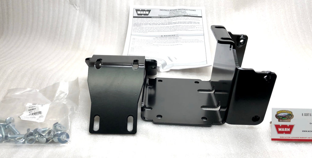 WARN 100878 ATV Winch Mount for Polaris,