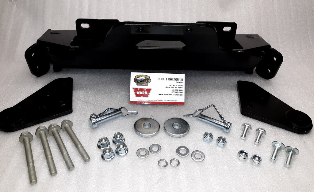 WARN 100960 Front Plow Mount for 15-19 Polaris Sportsman 850, 1000